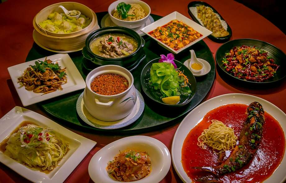 The dishes of Z & Y Restaurant in San Francisco. Photo: John Storey, Special To The Chronicle