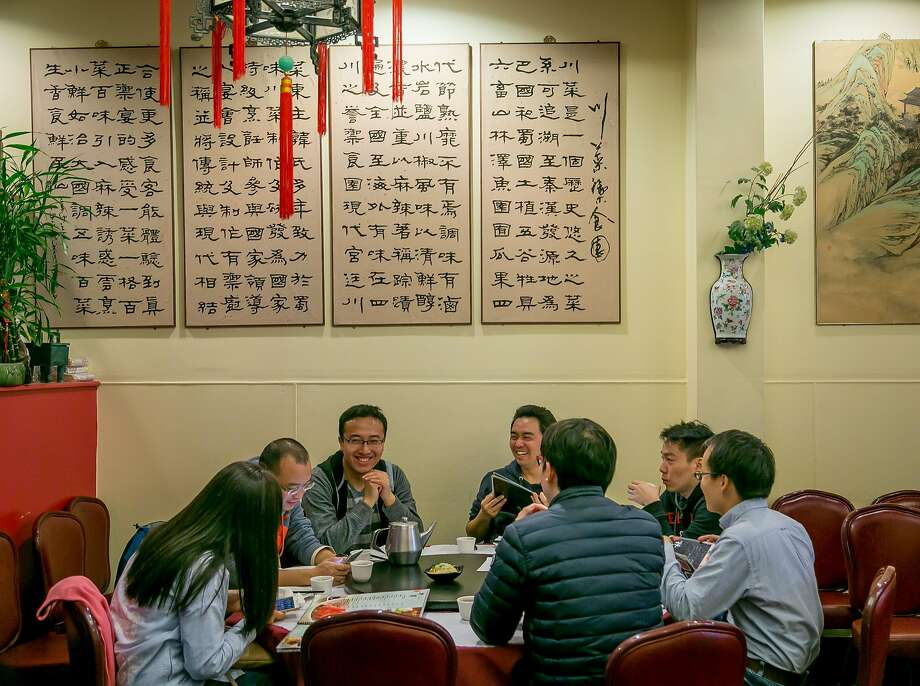 People have dinner at  Z and Y Restaurant in San Francisco, Calif., on March 24th, 2016. Photo: John Storey, Special To The Chronicle