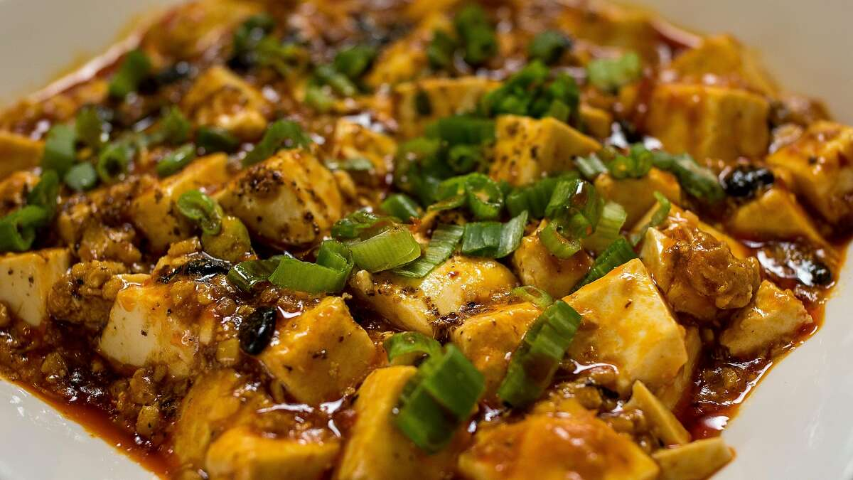 The Ma Po Tofu at Z and Y Restaurant in San Francisco, Calif., is seen on March 24th, 2016.