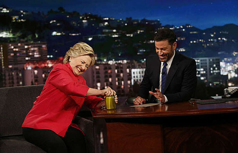 "Hillary Clinton appeared on ""Jimmy Kimmel: Live"" on Monday, Aug. 22, 2016, where she address the rumors about her health.Take a look back as some of the conspiracy theories trumpeted by Donald Trump over the years."