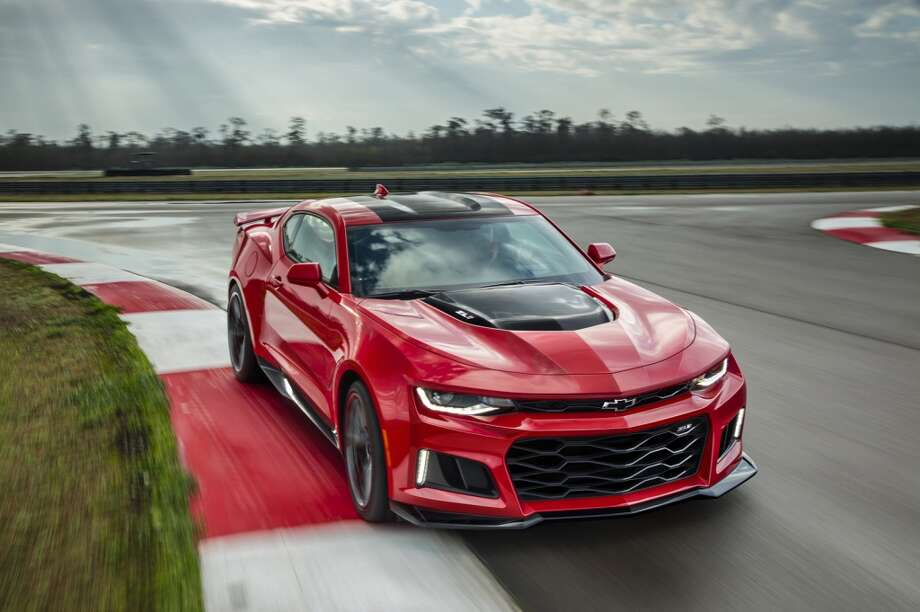 2017 Chevrolet Camaro ZL1Characteristics: More horsepower, improved handlingWhat might go wrong: NothingEstimated arrival price: $60,000See more at Car and Driver. Photo: Chevrolet USA