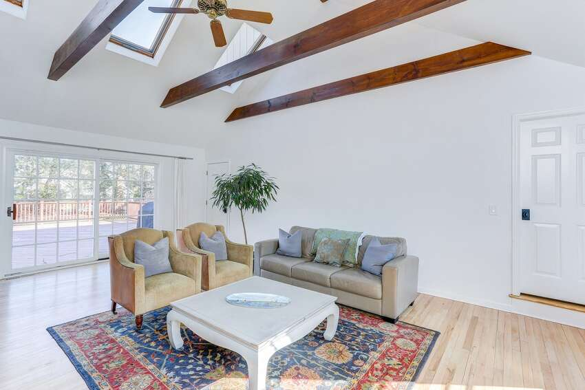 65 Whiffle Tree Ln, New Canaan, CT 06840 Price: $1,890,000 Open house: 3/26 11am-2pm Features: 5 beds; 4 baths; 4,023 sqft; loft area; cathedral ceilingsView full listing on Zillow