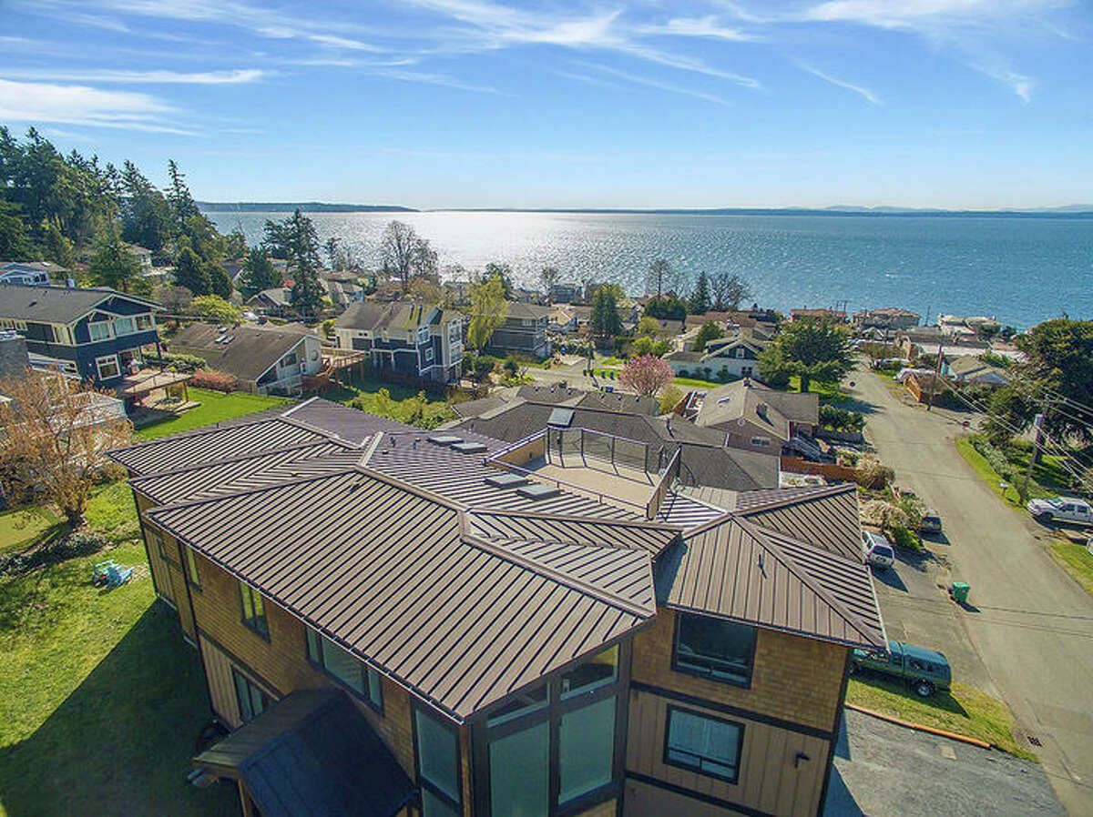 The home is close to the water in the Richmond Beach neighborhood.