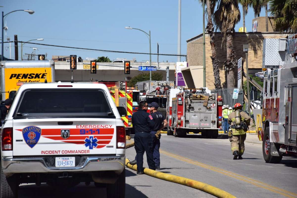 More than 30 San Antonio Fire Department units were dispatched to the Children's Hospital of San Antonio, 313 Santa Rosa, around 10:45 a.m. on Friday, March 25, 2016.