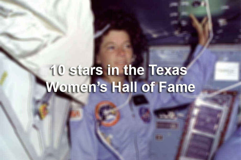 From astronauts and athletes to entrepreneurs and lawmakers, the Texas Women's Hall of Fame honors the most accomplished women in the state. Click ahead for a look at 10 of them. Photo: San Antonio Express-News / handout web