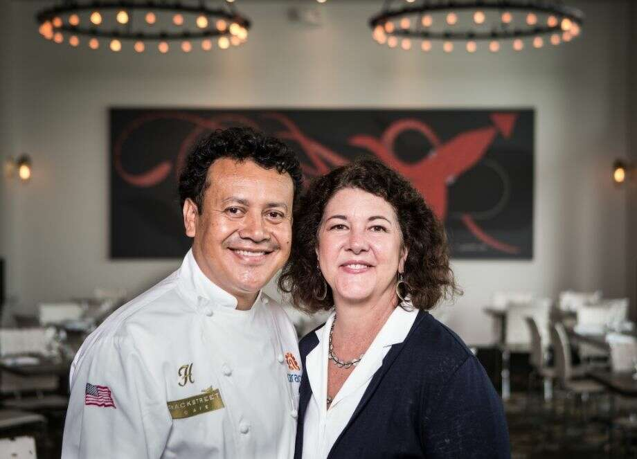 Chef Hugo Ortega, and Tracy Vaught, are co-owners of the H Town Restaurant Group. Vaught was listed among the semifinalists for the 2017 James Beard Award for Outstanding Restaurateur. Ortega is a semifinalist for Best Chef Southwest. Photo: Nick De La Torre
