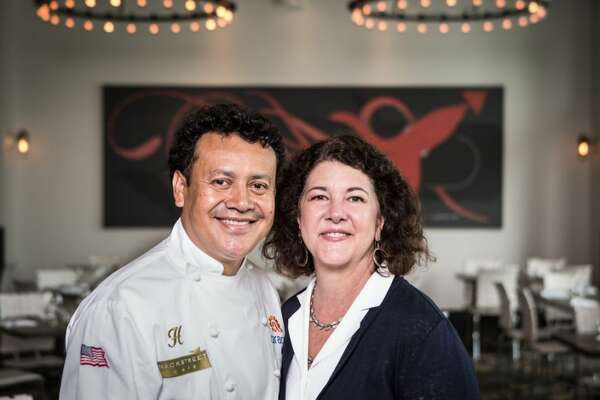 Chef Hugo Ortega, and Tracy Vaught, are co-owners of the H Town Restaurant Group.