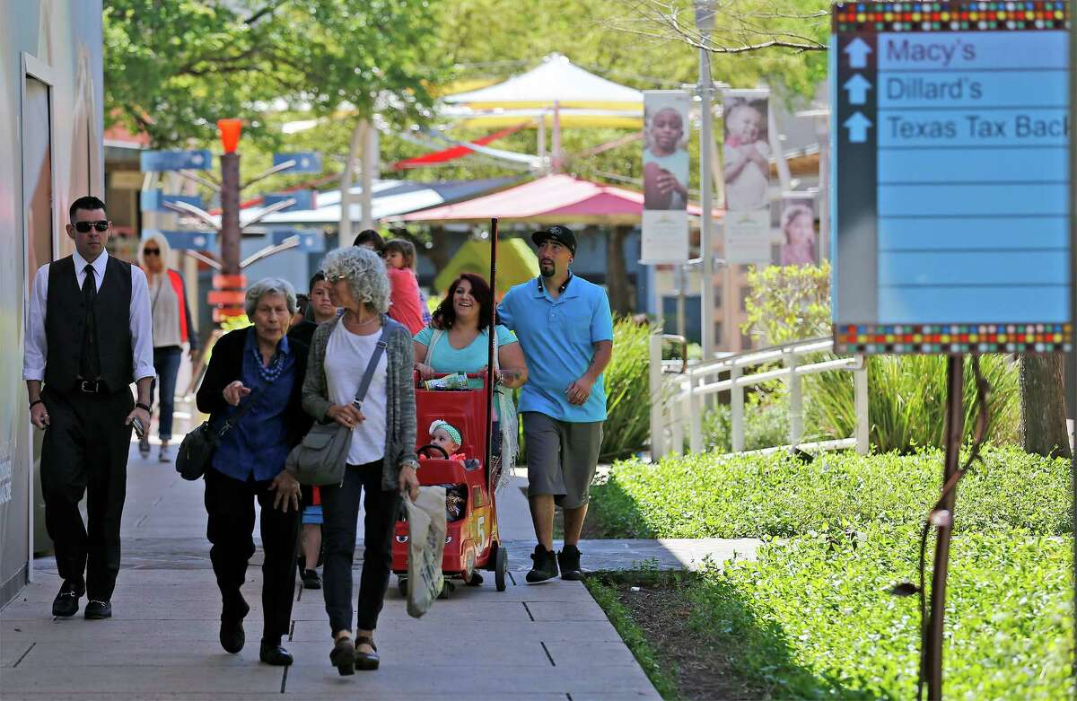 The Shops at La Cantera in San Antonio is one of the major Texas destinations for vacationing shoppers, including many middle-income visitors from Mexico.