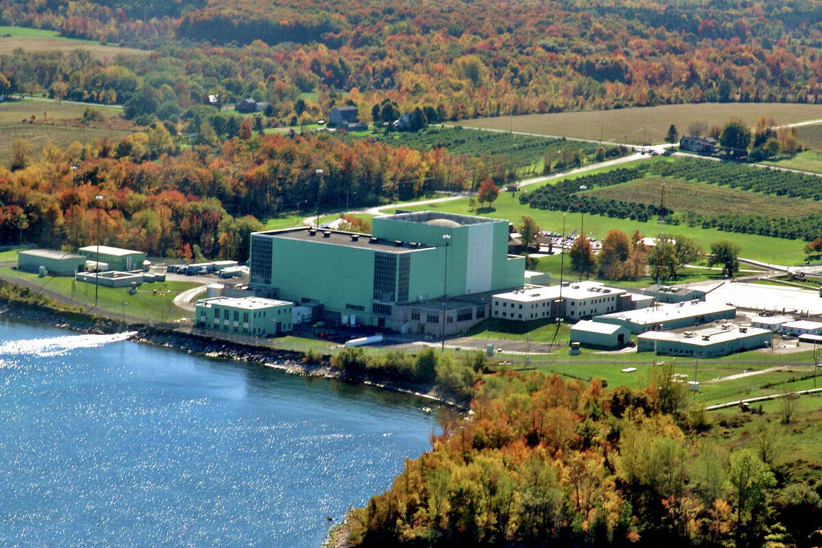 A view of Constellation Energy Group Inc.'s R.E. Ginna Nuclear Power Plant, located along the south shores of Lake Ontario in Ontario, New York, U.S., is seen in this handout photo taken on Oct. 22, 2007. Exelon Corp., the largest operator of U.S. nuclear power plants, agreed to buy Constellation Energy Group Inc. for about $7.9 billion in stock, adding stakes in five reactors and becoming the largest U.S. electricity marketer. Source: Constellation Energy Group Inc. via Bloomberg EDITOR'S NOTE: EDITORIAL USE ONLY. NO SALES.