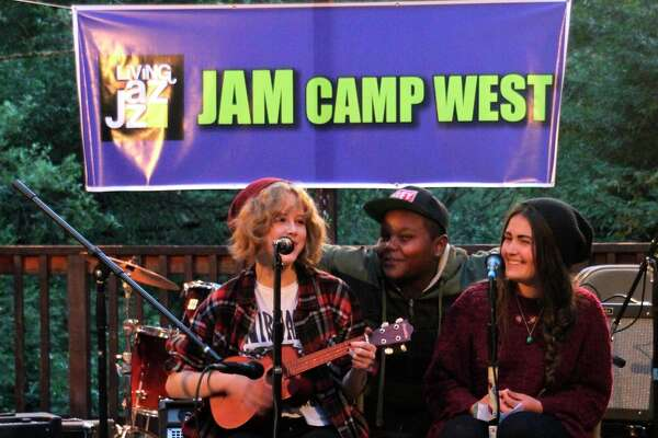 Jam Camp, a sleep-away program at Camp Loma Mar, allows children of all skill levels to learn musical instruments.