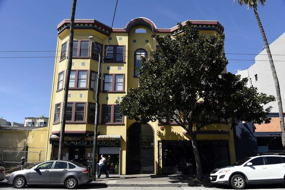 The building at 1930 Mission St. where nuns of the Fraternite Notre Dame Mary of Nazareth Soup Kitchen will relocate after they were evicted from their former location on Turk Street. Photo: Michael Short, Special To The Chronicle