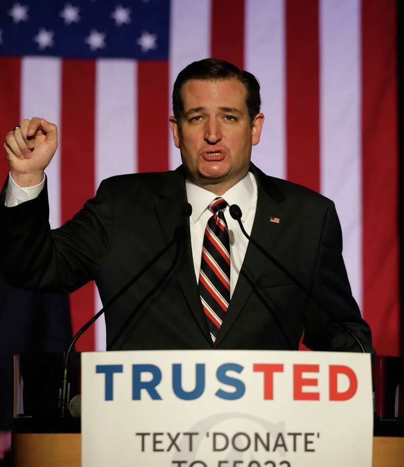 Republican presidential candidate Sen. Ted Cruz (R-TX) would likely be a marginal candidate — narrowed to tea party and evangelical support — if Donald Trump wasn't scarier to some segments of the Republican Party. Photo: Bob Levey /Getty Images / 2016 Getty Images
