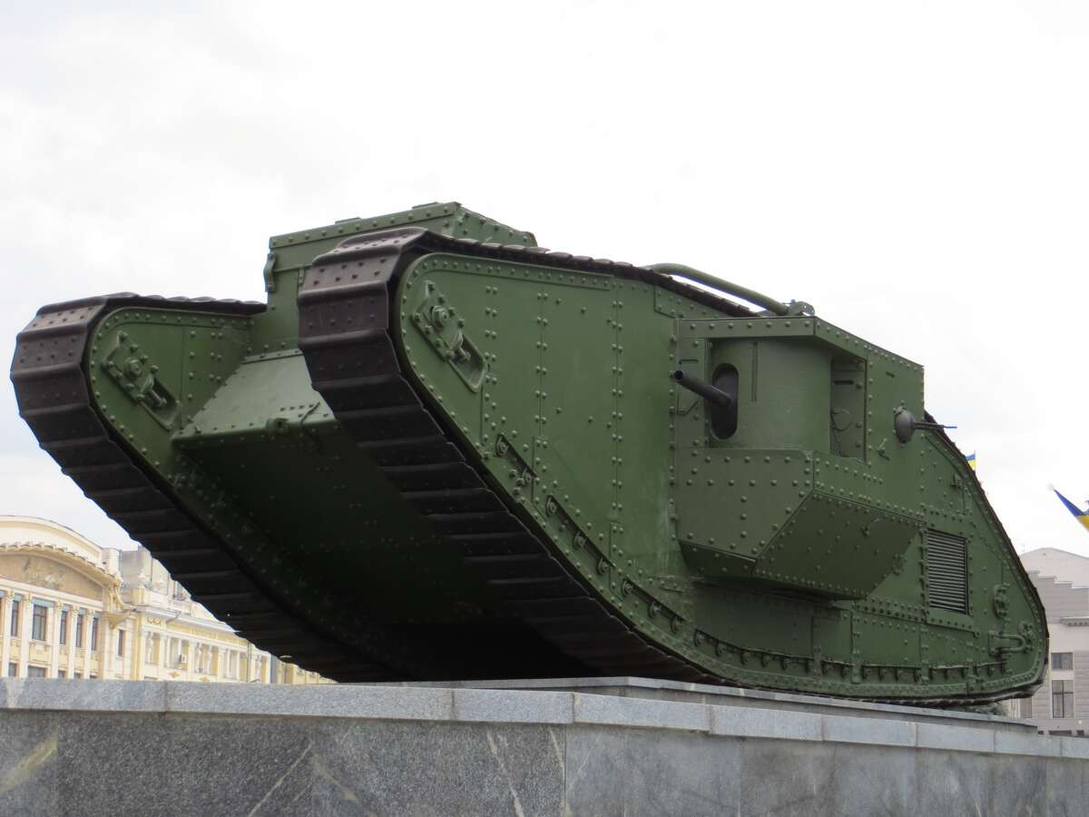 Mark V Tank Years active: 1918 - unknown
