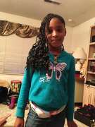 Alaysha Carradine, 8, shot to death on a sleepover in Oakland on July 15, 2013.
