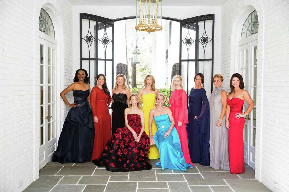Houston Chronicle's 2016 Best Dressed honorees: top row: Winell Herron, Sippi Khurana, Milette Sherman, Stephanie Cockrell, Isabel David, Gayla Gardner, Mary Tere Perusquia and Laura Davenport. Bottom row: Susan Sarofim and Rosemary Schatzman. Photo by Julie Soefer. Hair/makeup: CeronKeep clicking to learn how they do what they do and look so good doing it. Photo: Julie Soefer / Julie Soefer