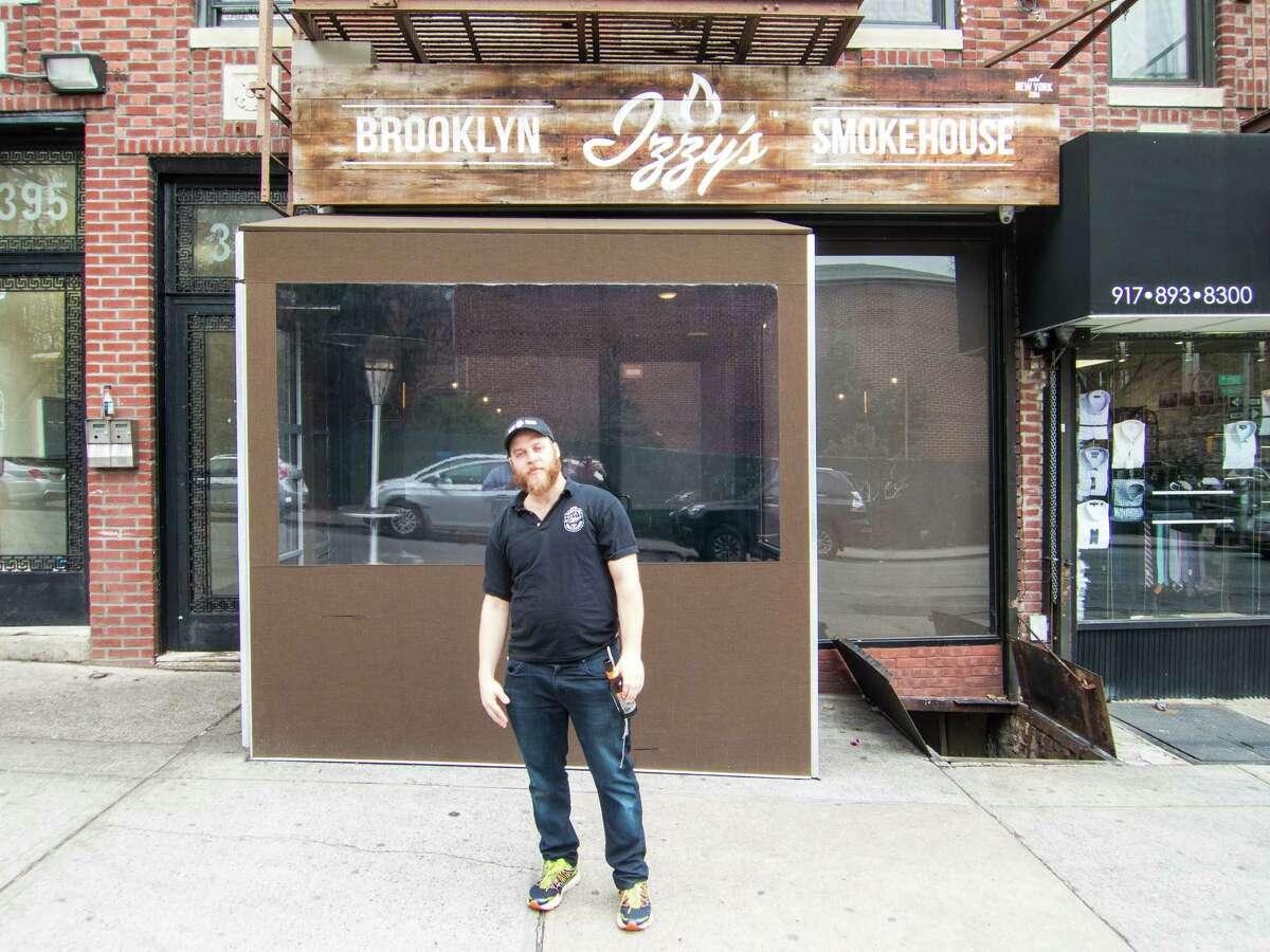 Izzy Eidelman at Izzy's Brooklyn Smokehouse - Crown Heights, Brooklyn, NYC