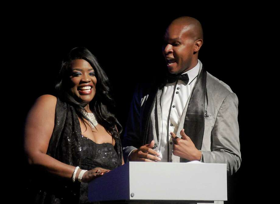 Event chairs and last year's winners Nakia Cooper and Travis Torrence Photo: Dave Rossman, Freelance / Dave Rossman