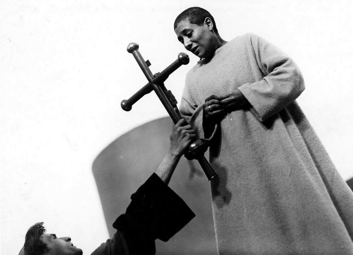 """Film still fromCarl Dreyer�'s 1928 silent film, """"The Passion of Joan of Arc."""""""