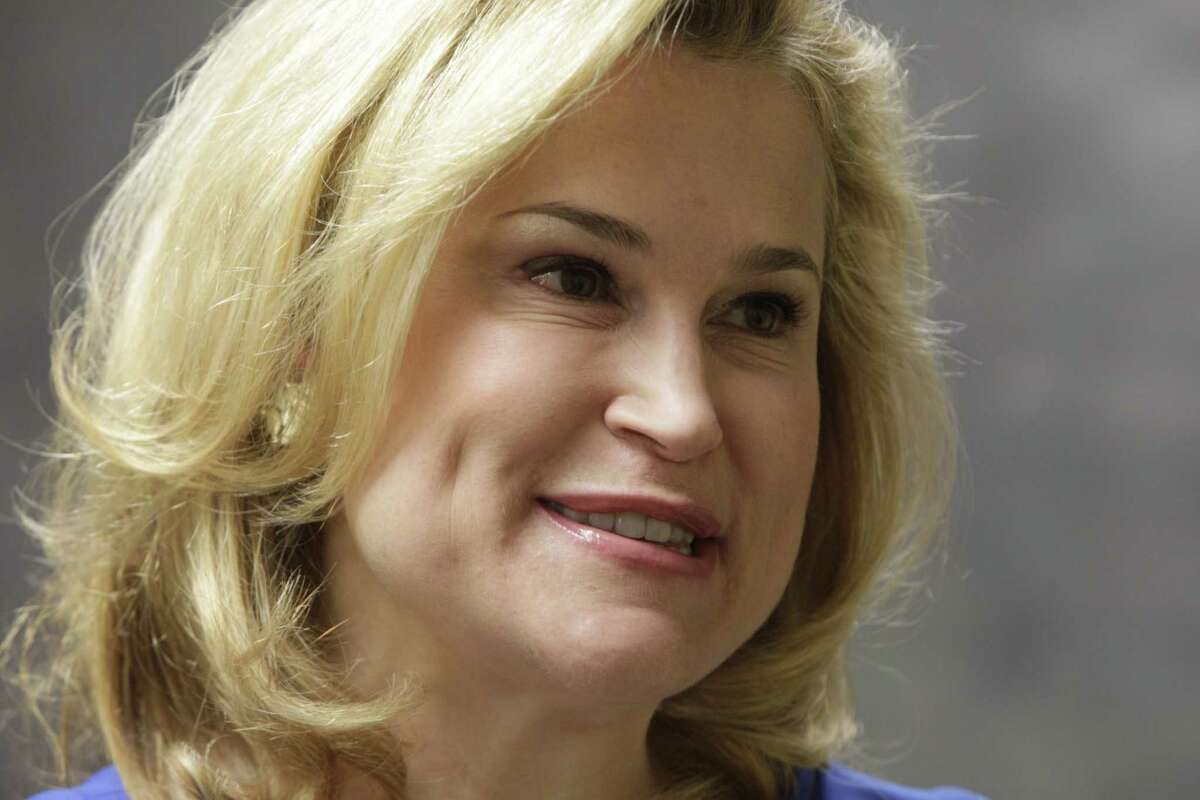 Heidi Cruz met with reporters at the The Woodlands Bible Church, 2407 Timberloch Place Spring, Texas Saturday, Feb. 27, 2016, in Spring.