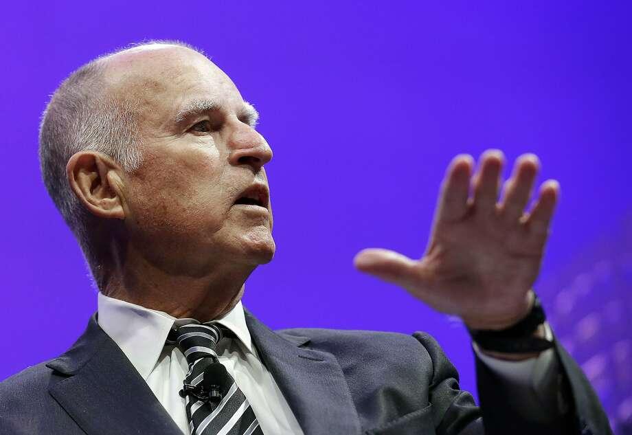 Gov. Jerry Brown granted 59 Good Friday pardons on March 25, 2016. (AP Photo/Jeff Chiu,File) Photo: Jeff Chiu, Associated Press