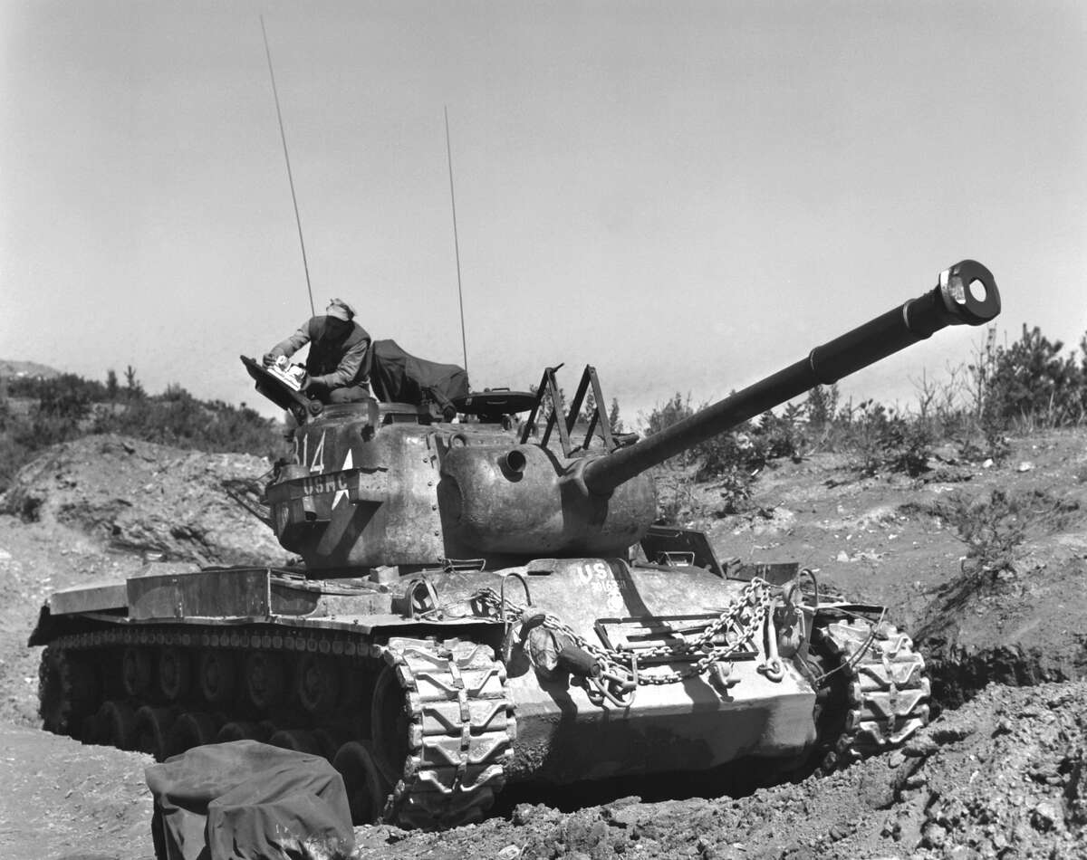 War On June 25, 1950. some 75,000 North Korean troops spilled over the 38th parallel dividing the two countries. In 1951, China intervened on behalf of the North Koreans and at times the United Nations forces seemed on the brink of losing.