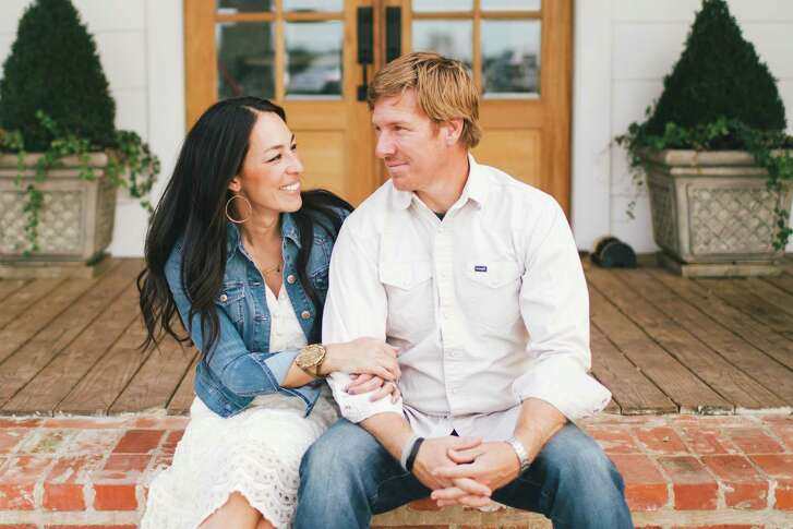 """Joanna and Chip Gaines film their HGTV home makeover show """"Fixer Upper"""" in Waco."""