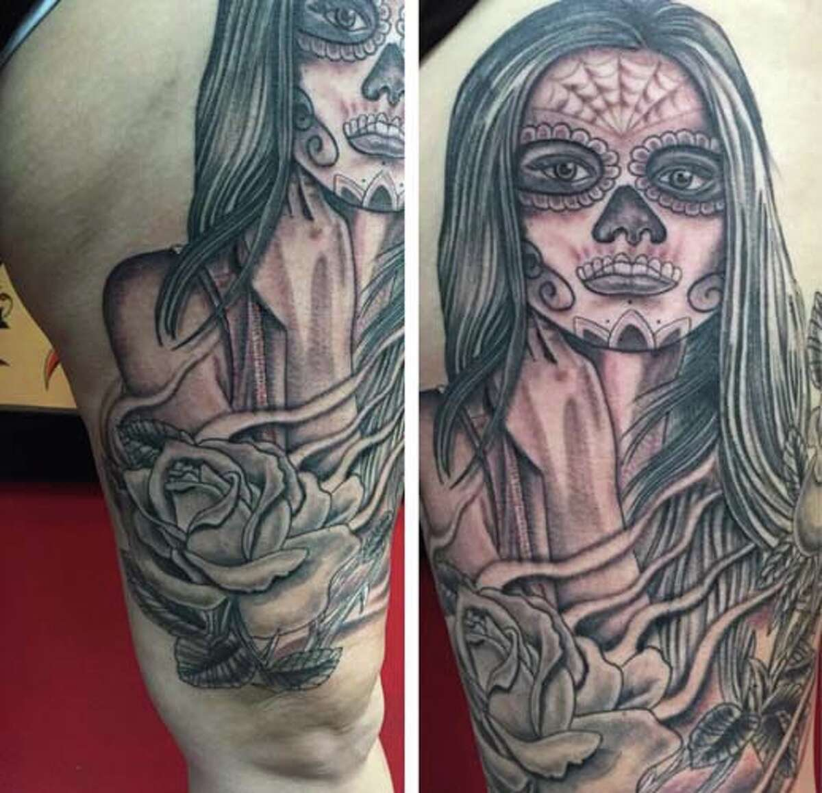 Tattoo art created by Anthony Montemayor of Arc Angel Tattoo.