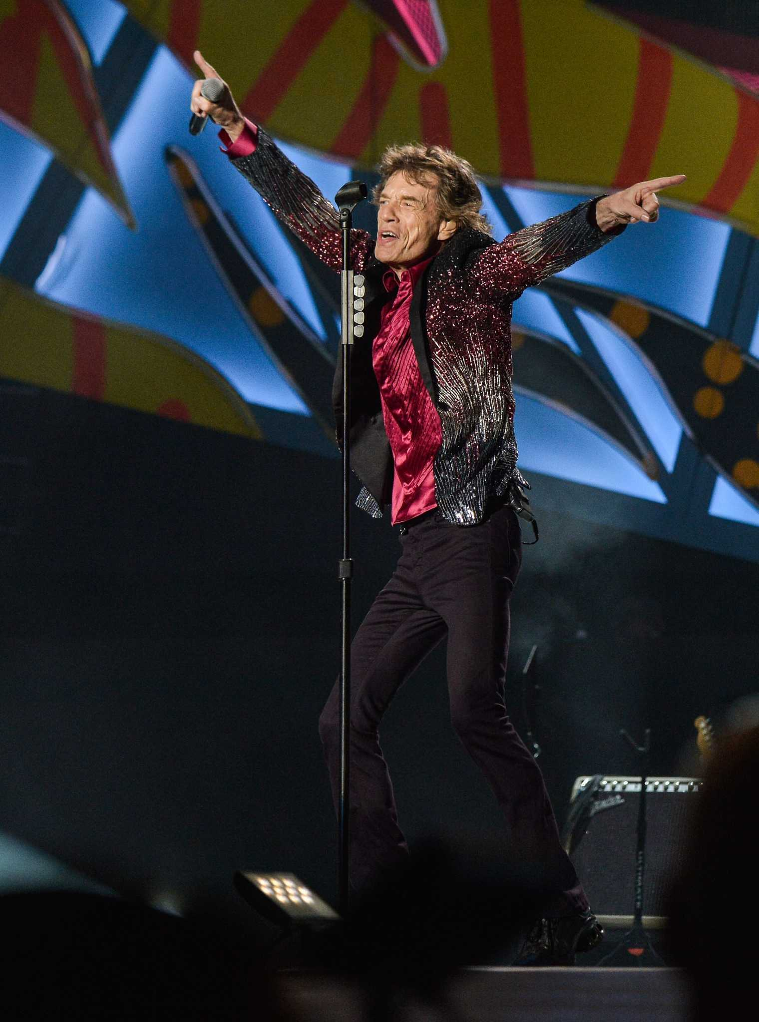 Rolling Stones reschedule Houston tour date
