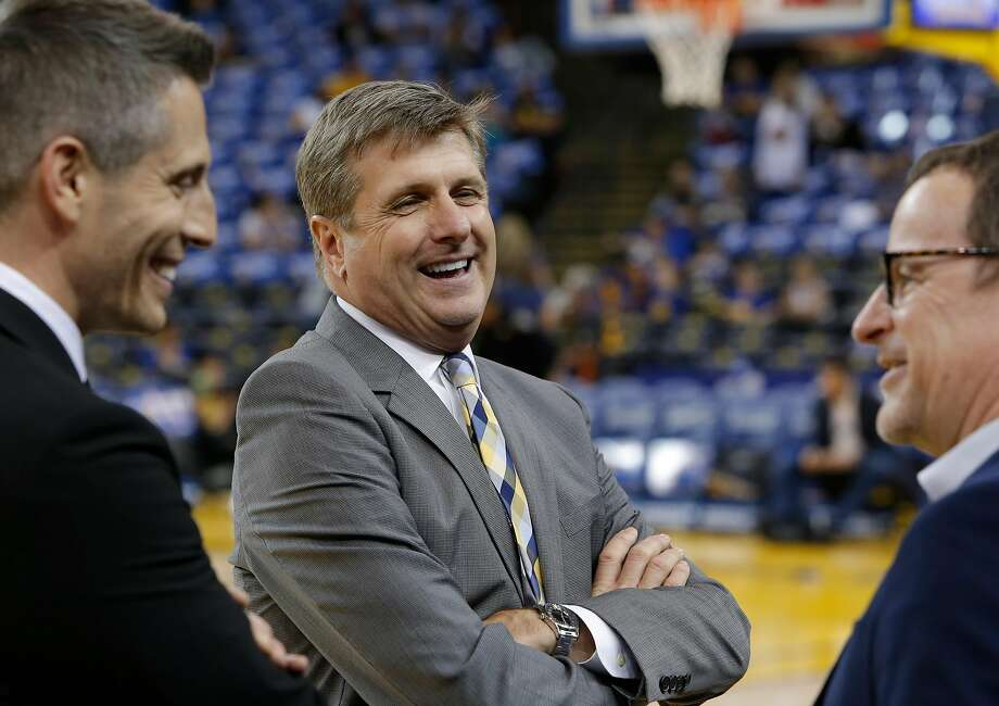 Rick Welts president and chief operating officer of the Golden State Warriors at Oracle Arena in Oakland, California, on Fri. March 25, 2016. Photo: Michael Macor, The Chronicle