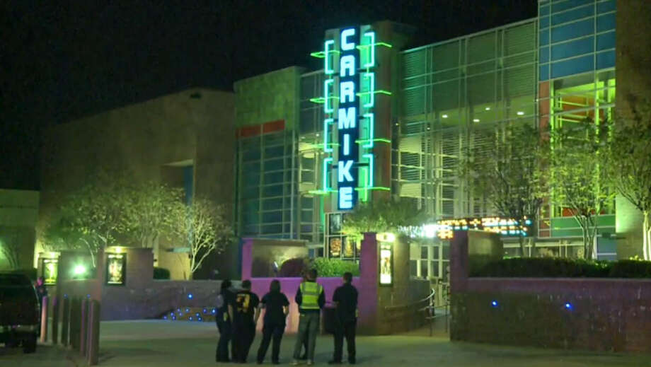 A teen was airlifted to a local hospital early Saturday after injuries sustained in a fight outside of a northwest Harris County movie theater. Photo: Metro Video Screen Shot