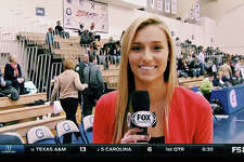 Stamford native Cayleigh Griffin is working hard and having fun as a digital correspondent for the Big East Network. March 2016