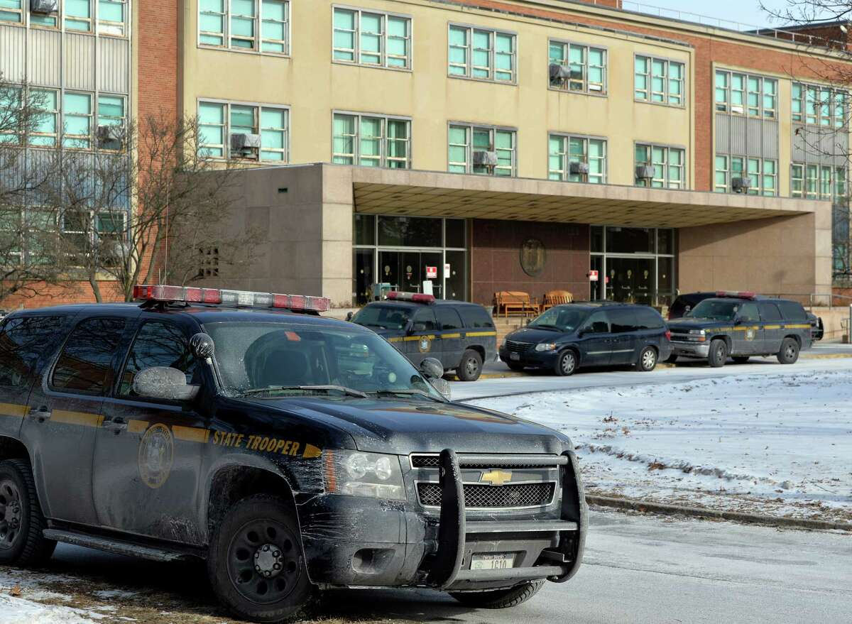 New York State Corrections Department on the Harriman Campus Jan. 28, 2014, in Albany, N.Y. (Skip Dickstein / Times Union archive)