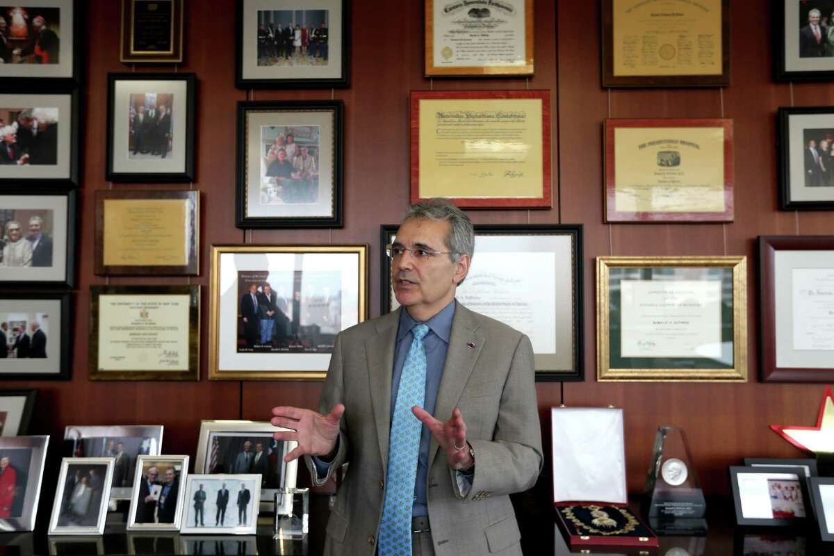 Dr. Ronald DePinho said MD Anderson had to change. 'Amongst my many faults, I want to have a sense of urgency...I want to get stuff done, and I run pretty fast.'