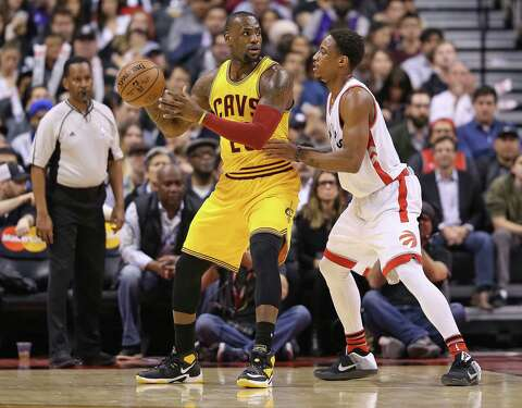 b378602ecc3d Cavs and LeBron James are trying to fend off the Raptors and DeMar DeRozan  for the