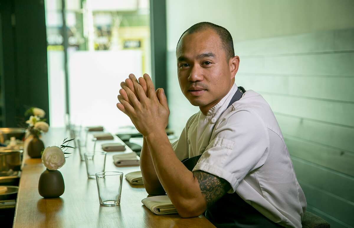 Chef James Syhabout of Commis in Oakland, Calif., is seen on March 26th, 2016.
