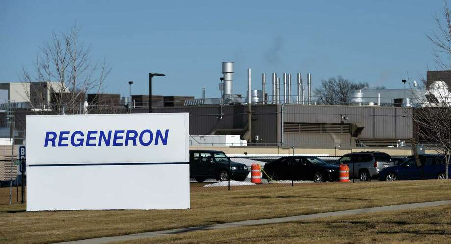 Exterior view of the Regeneron East Greenbush plant on Thursday, Feb. 18, 2016, in Rensselaer, N.Y. (Skip Dickstein/Times Union) Photo: SKIP DICKSTEIN / 20035496A