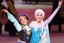 "Anna and Elsa from ""Frozen"" are among the stars of Disney on Ice presents ""100 Years of Magic"""