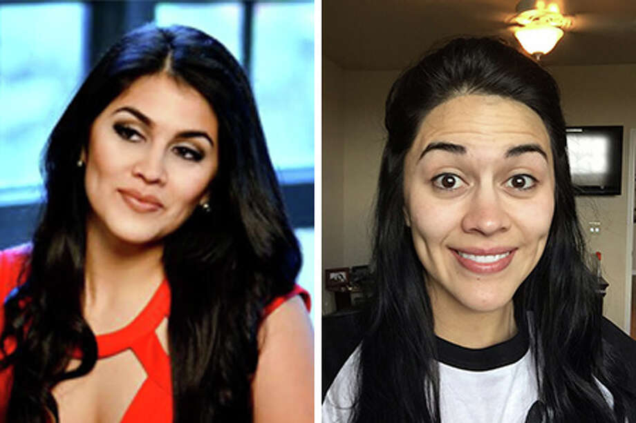 Click ahead to see San Antonio TV Lifestyle hosts before and after makeup. Photo: Courtesy