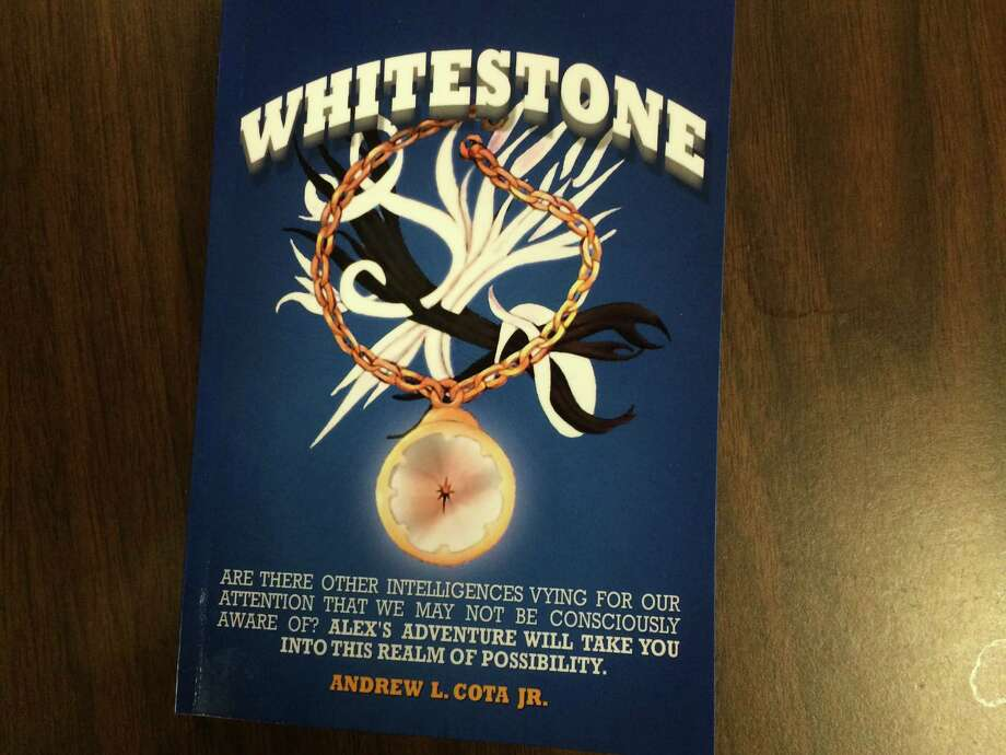 Whitestone is Retired Derby Police Chief Andrew L. Cota Jr.'s first novel Photo: / Michael P. Mayko