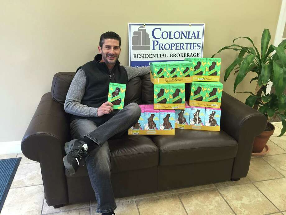 Colonial Properties in Orange is offering a free chocolate bunny to kids 12 and younger. Photo: Contributed / Contributed