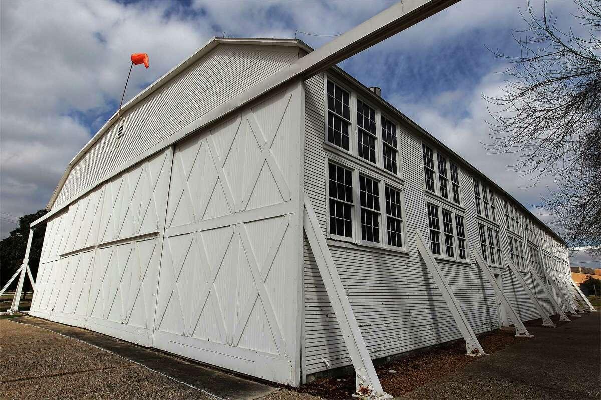 Brooks City Base will break ground Tuesday on a project to rehabilitate Hangar 9, a World War I aircraft hangar and national historic landmark.