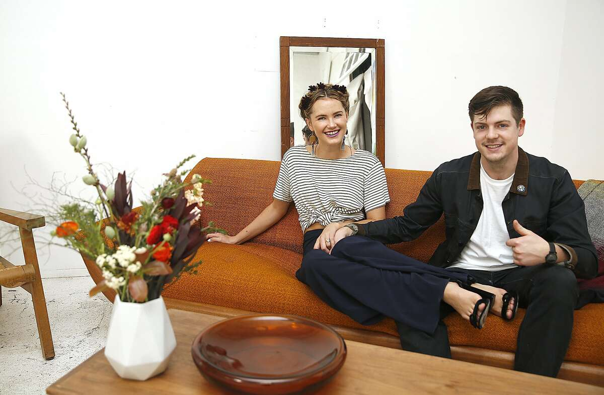 Co-founders Kyleigh Kuhn and Ryan Brown have opened Clementina, the new event space-meets co-working space in Soma in San Francisco, California, on thursday, march 24, 2016.