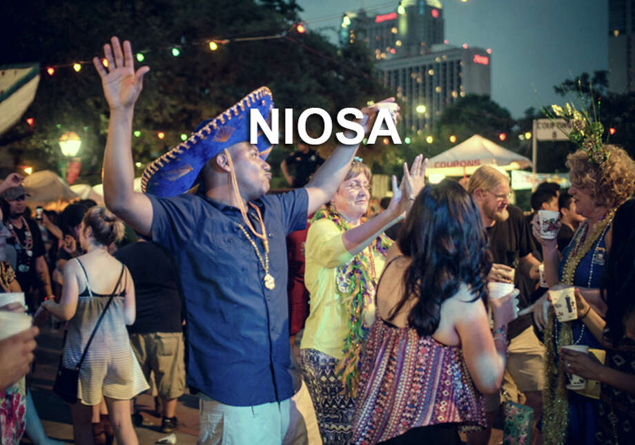 Over 85,000 people are expected to hit La Villita for A Night in Old San Antonio, or NIOSA, a four-night festival that includes food and live music. Photo: Chavis Barron / For The Express-news / © 2015 San Antonio Express-News