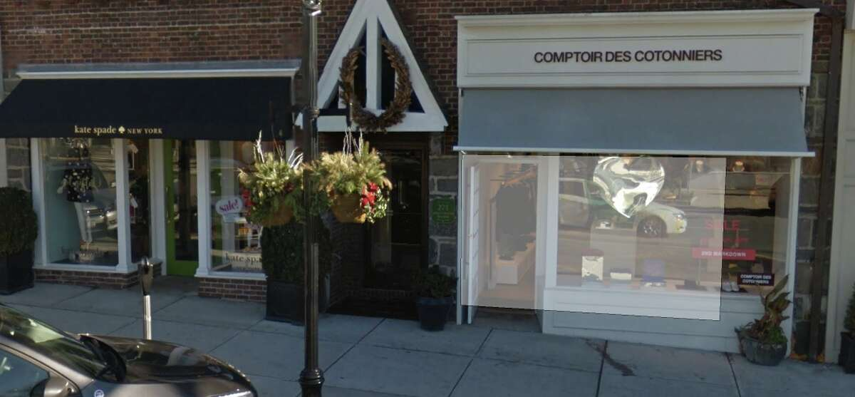 Comptoir des Cotonniers is subletting 271 Greenwich Avenue to luxury clothing store Velvet.
