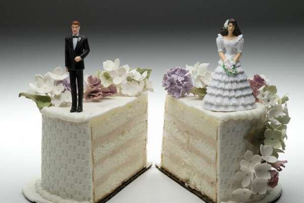 Divorce overall   About half of first marriages end in divorce.   (Source: CreditDonkey report based on numbers from Centers for Disease Control, U.S. Census Bureau, American Academy of Matrimonial Lawyers and the American Sociological Association.)