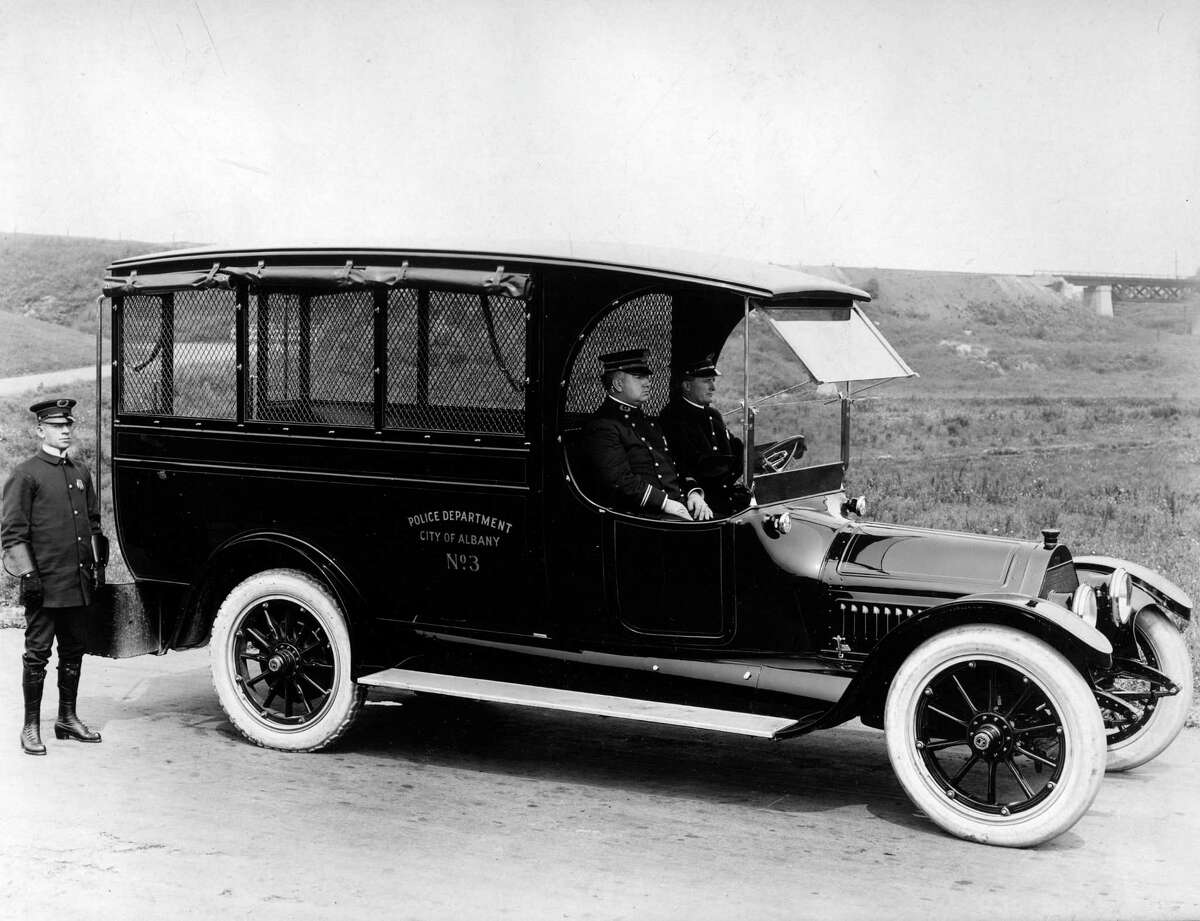 Historic Albany Police vehicle from the late 1920s. (City of Albany)