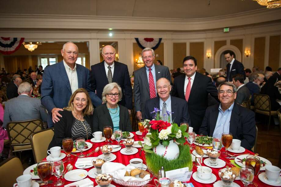 Nolan Ryan, Charlie Reed, Les Cave, Richard Torres, Lisa Martin, Vicky Smith, Steve Smith, and Tom Brown