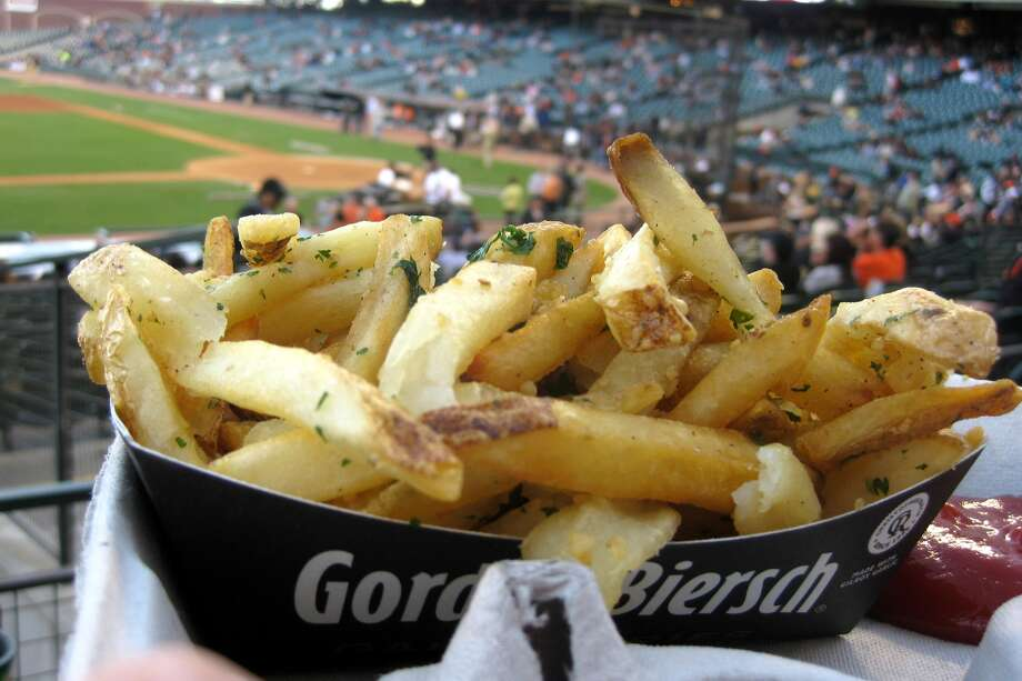 AT&T Park's famous Gilroy Garlic Fries (Photo by Wally Gobetz/Flickr) Photo: Wally Gobetz/Flickr