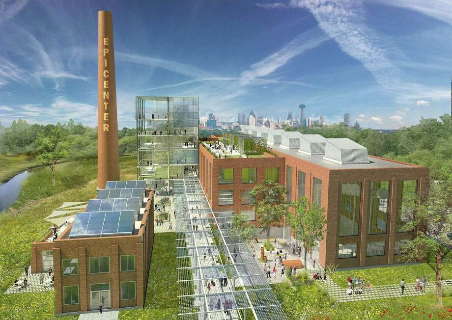 The Mission Road power plant was decommissioned in 2002, and will be converted into the EPIcenter, which stands for Energy, Partnerships, Innovation center. Photo: CPS Energy /Courtesy CPS Energy