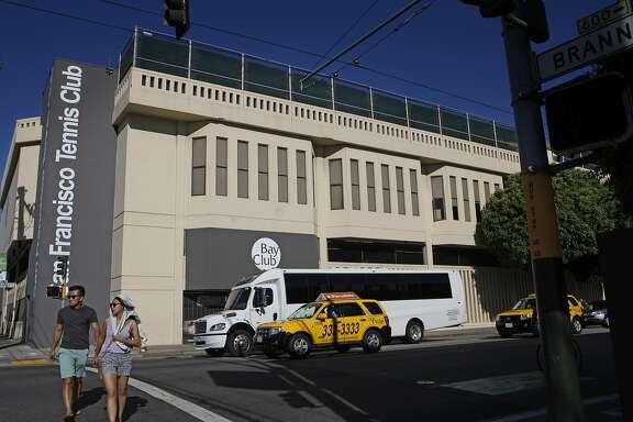 The Bay Club SF Tennis  September 19, 2015.